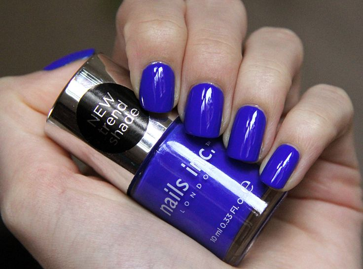 Nails Inc. polish -- Baker Street  (buy at Sephora)