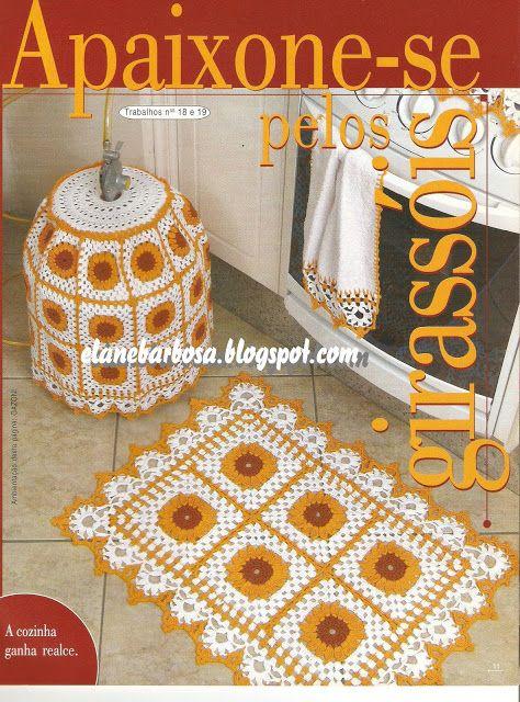 Crochet and Graphs: Jogo de Cozinha [GRAFICOS]