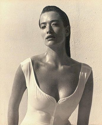 Tatjana Patitz by Herb Ritts, 1988
