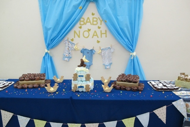 Cute and simple baby shower
