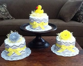 You Are My Sunshine Baby Shower Sunshine Diaper Cake by MsPerks