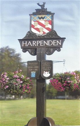 Harpenden Town sign.