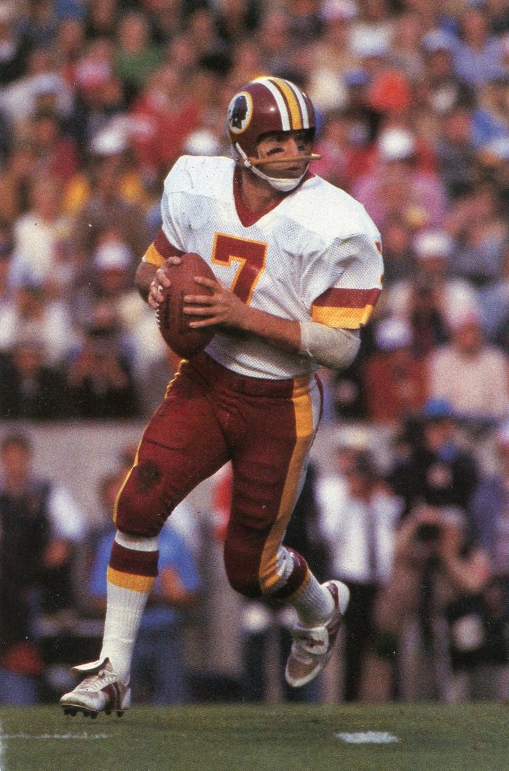 washington redskins joe washington | Joe Theismann, Washington Redskins QB, Unused (#23-C) - $4.00 ...