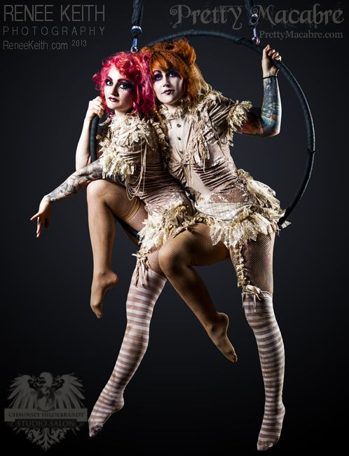 """We are working on a new doubles act for our show we are putting on """"The Vaudevillian Ball""""!"""