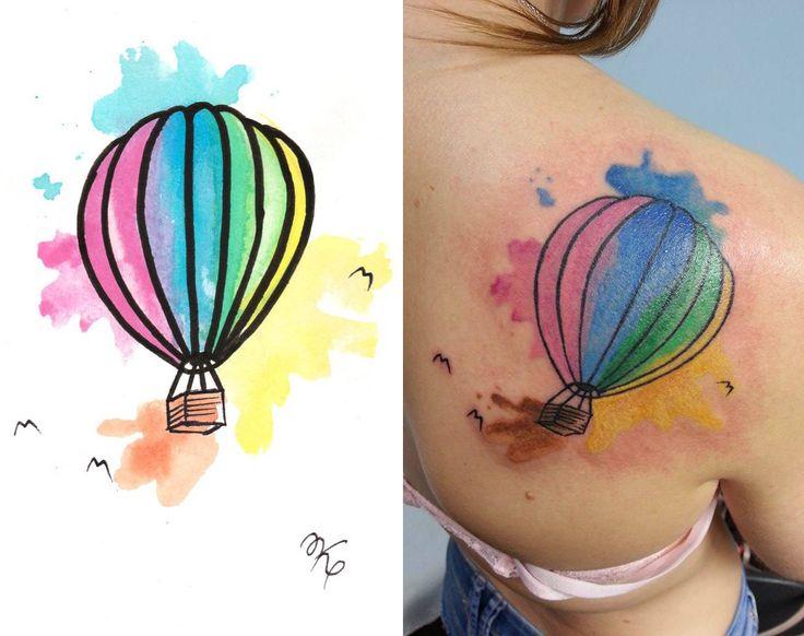 Redberry Tattoo Studio Wrocław #tattoo #inked #ink #studio #wroclaw #warszawa #tatuaz #gdansk #redberry #katowice #berlin #poland #krakow #balon #balonik #kolor #color