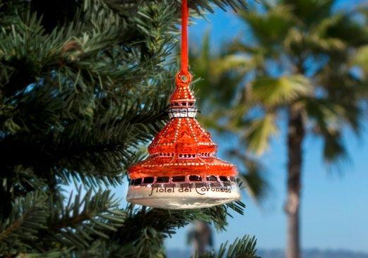 Hotel Del Coronado Christmas Ornament 2020 World | Fxbmpn