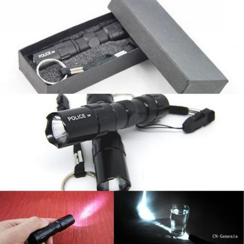 3W Mini Cree Waterproof LED Flashlight Torch For Outdoor Camping Hiking Travel