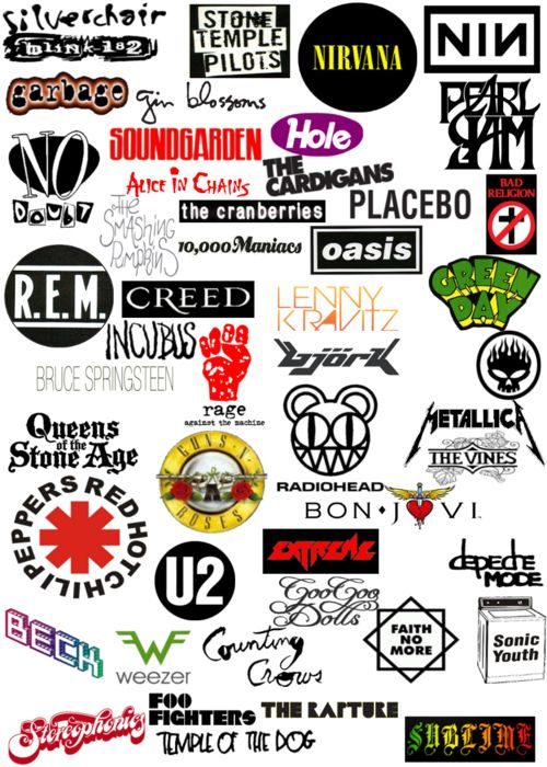 90s Bands when music was really good. A lot of memories wrapped up in some of those bands. Good times and good friends and good firsts