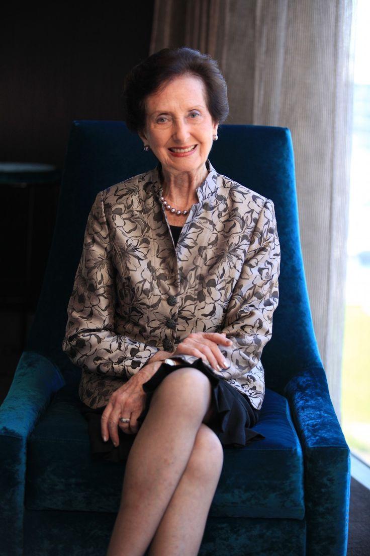 Former Model and Entrepreneur June Dally-Watkins. Photo Anna Howard