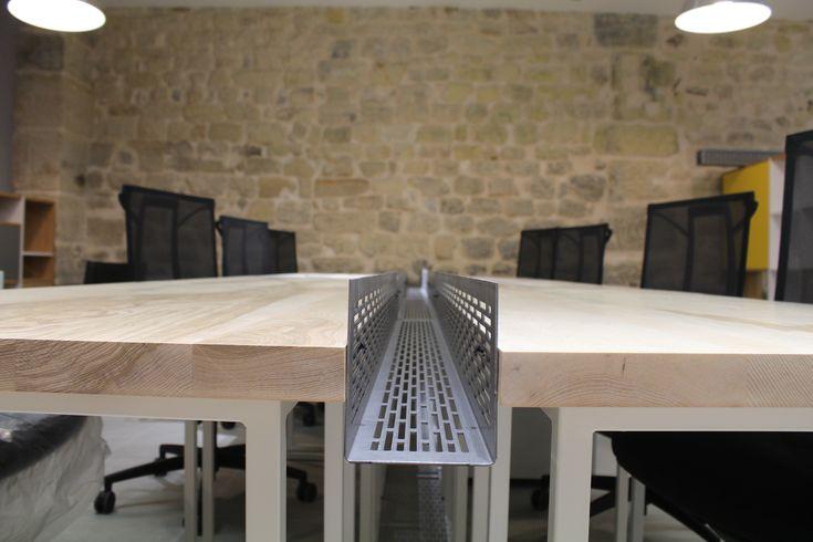 le.nid AI - projet 75_11è - aménagement d'un espace de travail en coworking - espace bureaux n° 2 - détail