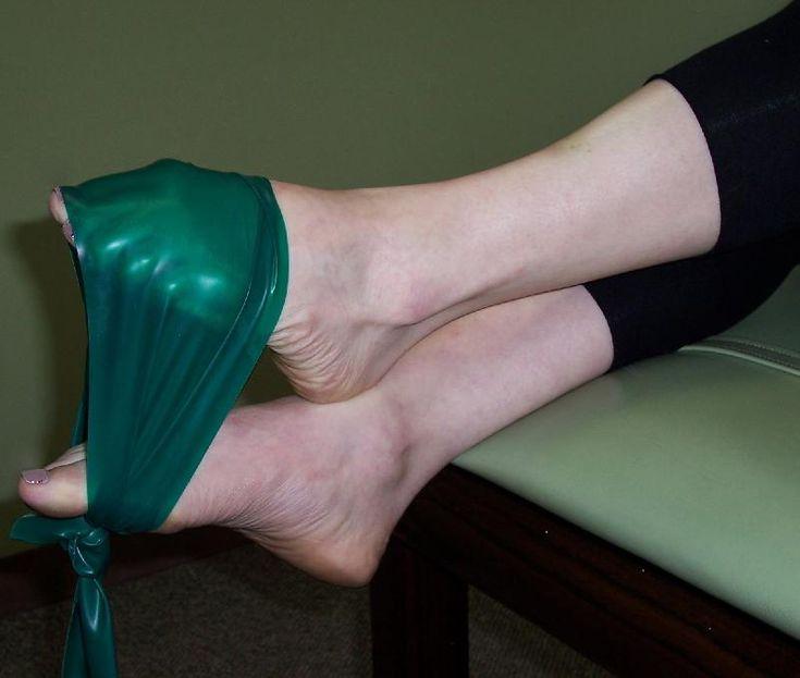 Theraband Exercises for ballet/pointe/ankles/feet - dorsiflexion