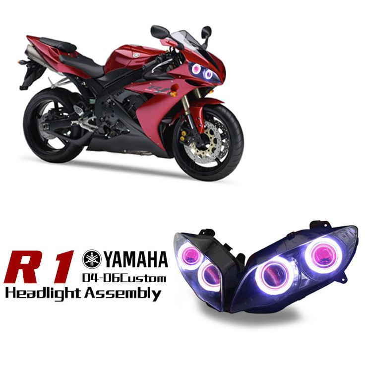 Yamaha R1 Custom Headlight Assembly 2004-2006 http://www.ktmotorcycle.com/custom-headlights/yamaha-custom-headlights/yamaha-yzf-r1/yamaha-yzf-r1-2002-2003.html