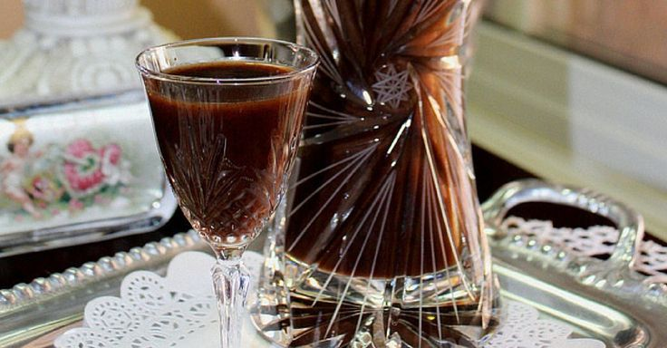 Domácí čokoládový likér