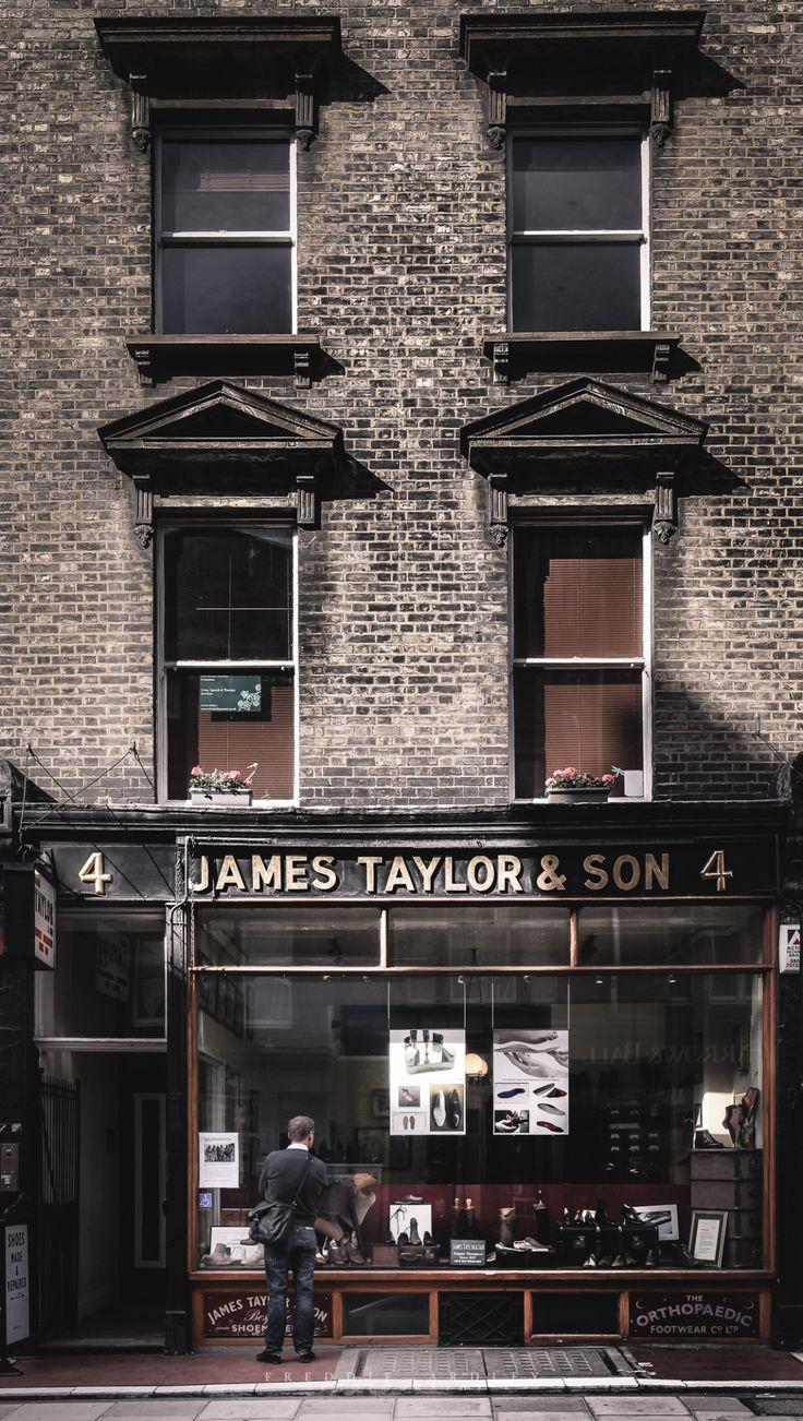 James Taylor and Son - Bespoke shoemakers since 1857 | 4 Paddington St, London W1U 5QE, United Kingdom taylormadeshoes.co.uk/