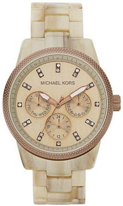 Michael Kors Ritz Horn Chronograph Watch $138