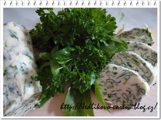 Jedlíkovo vaření: Pomazánky -bylinkové máslo  #recept #pomazanka #maslo #bylinky