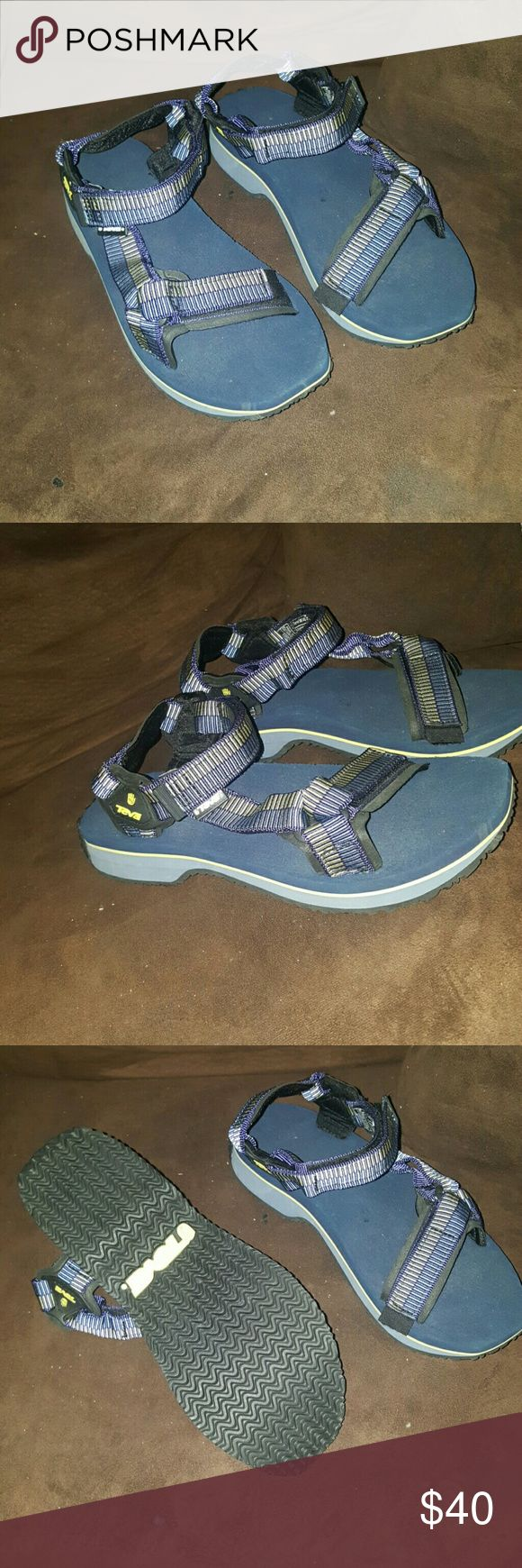 Sandals or shoes for hiking - Nwob Teva 9 Sandals Hiking Shoes Sporty