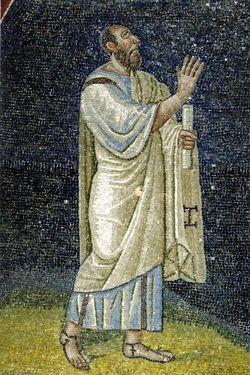Sa Paolo, mosaico, intorno a metà del V secolo, Mausoleo di Galla Placidia, Ravenna