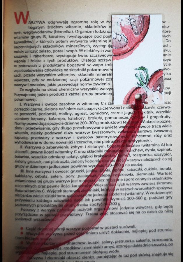 Paper & Card – Don Pomodoro – Handmade bookmark – a unique product by virydi_art on DaWanda