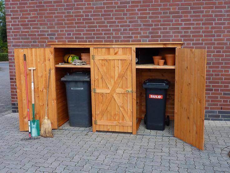 "Briefkasten Holz Bauanleitung ~ zu ""Mülltonnenbox Holz auf Pinterest  Mülltonnenverkleidung Holz"