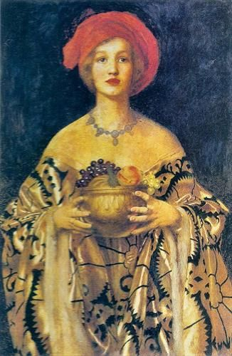 "Frank Cadogan Cowper, ""The Golden Bowl"""