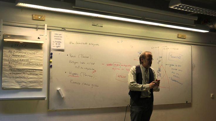 Föreläsning om svarta hål av Professor Ingemar Bengtsson, Stockholms uni...