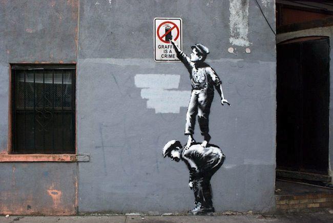 Oh Banksy