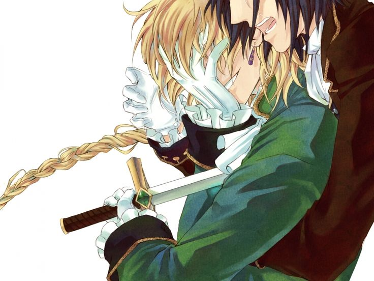 Pandora Hearts-Jack and Glen
