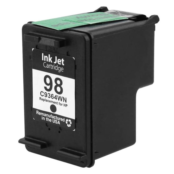 Refurbished Insten Remanufactured Ink Cartridge Replacement for HP C9364W/ 98 #1678920