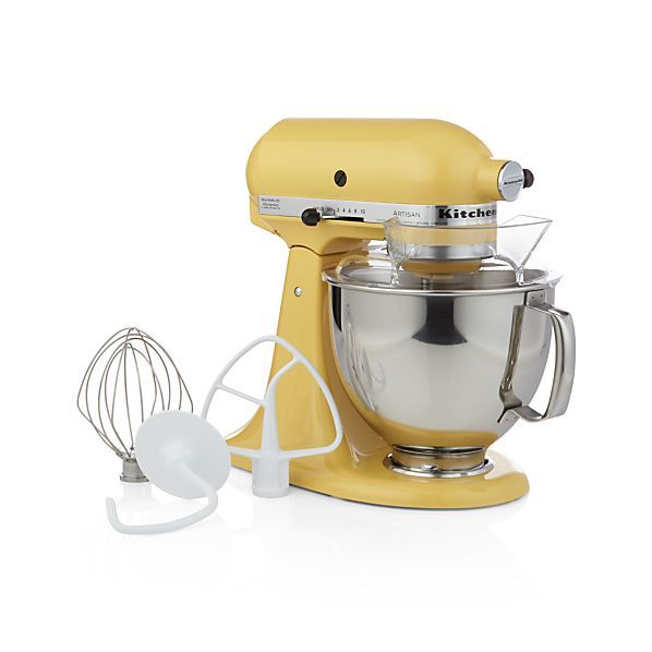 17 best images about Crate and Barrel on Pinteres -> Kitchenaid Yellow
