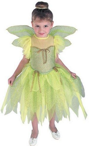 Kids Tinker Forest Princess Fairy Girls Book Week Fancy Dress Costume Outfit (R38871) | General Costumes | Girls Costumes | Girls General Costumes