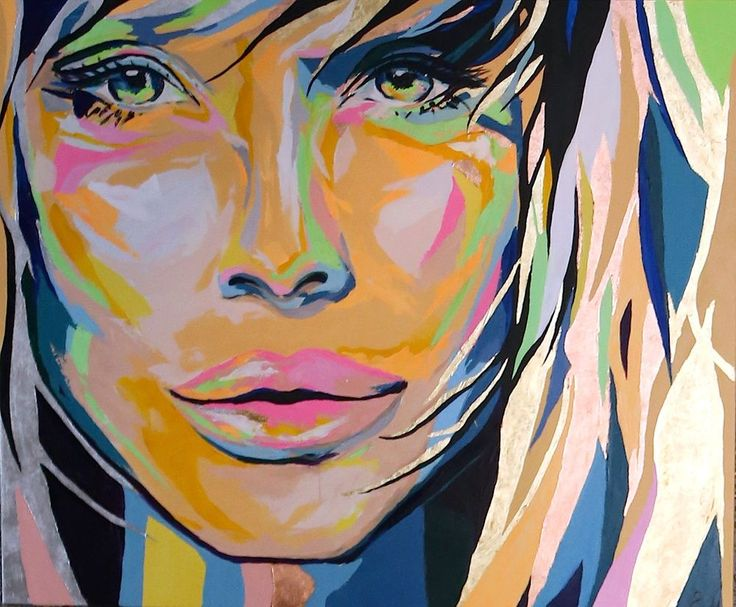 """""""Her"""" 160x130 cm via Emma Malm Art. Click on the image to see more!"""