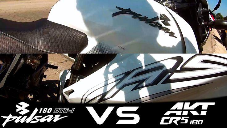PULSAR 180 VS AKT CR5 180 Drag Race /Xmotos