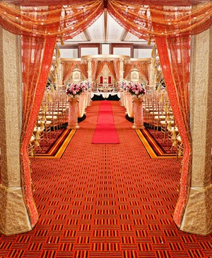 Simple yet elegant entrance. A view from the entrance
