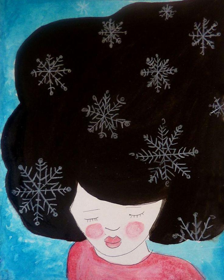 Pensées de neige