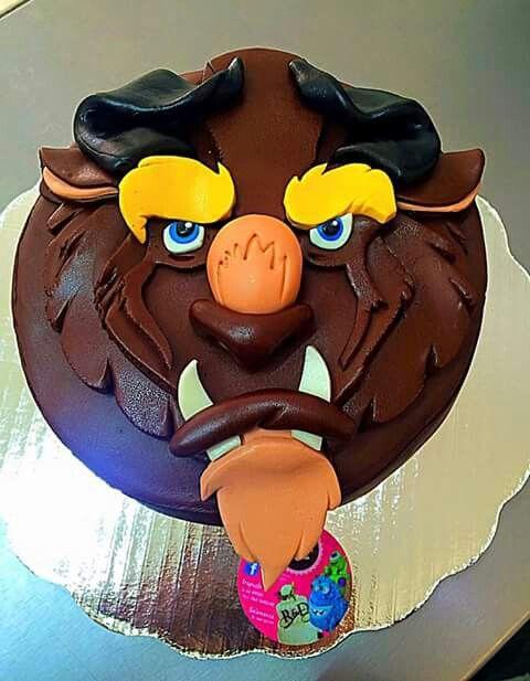 bella y la bestia cake