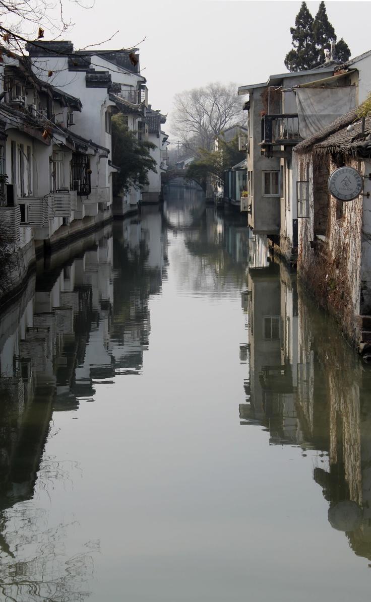 Canal in Suzhou, China - 2011