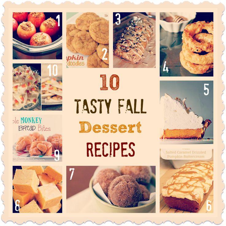 10 Tasty Fall Dessert Recipes: Loss Recipes, Fall Recipes, Dinners Recipes, 10 Keys, Textbook Mommy, Weights Loss, Tasti Fall, Simple Weights, Fall Desserts Recipes
