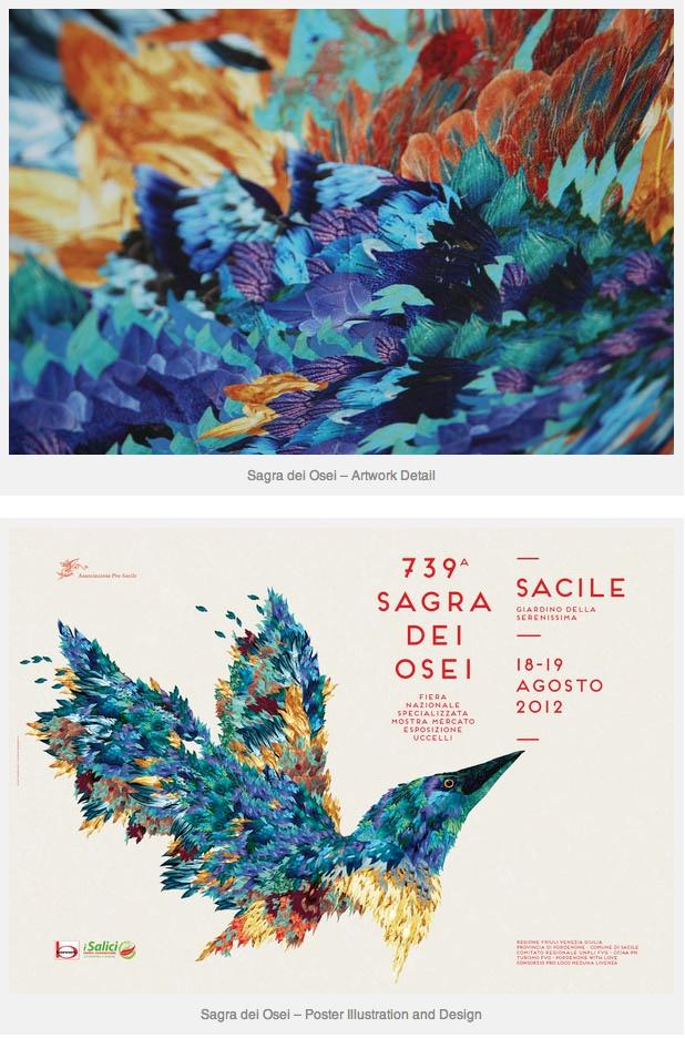 Sagra dei Osei – Poster Illustration and Design