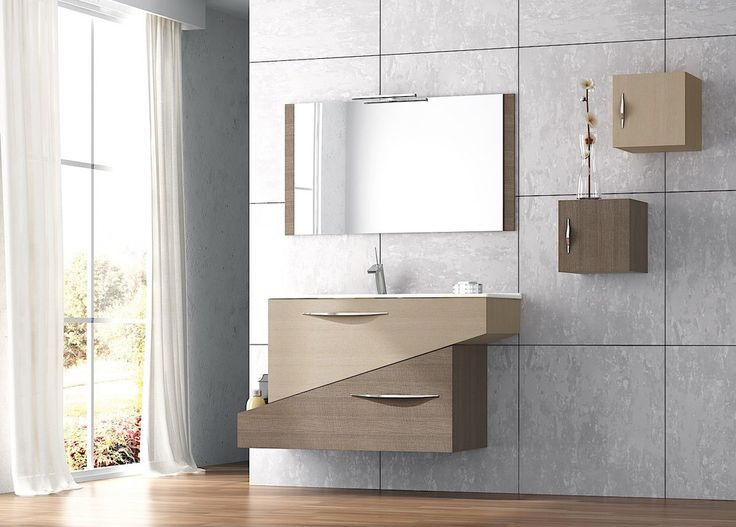24 best wall mounted bathroom vanities images on pinterest for Ultra modern bathroom