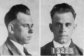 """""""Was Your Ancestor a Criminal?"""" (Photo of John Dillinger) Learn to find historic prison records online."""