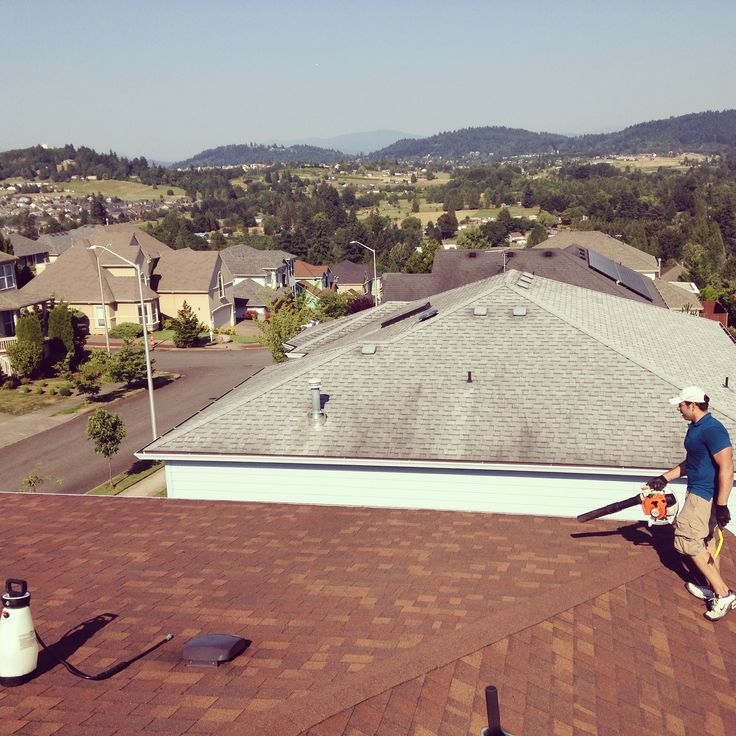 Gresham Roof Cleaning And Moss Removal When Moss Starts Grow On Your  Shingles The Moss Holds