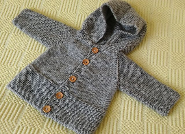 Ravelry: nalanhobi's Hooded baby jacket