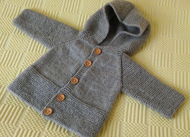 Ravelry: nalanhobi's Hooded baby jacket