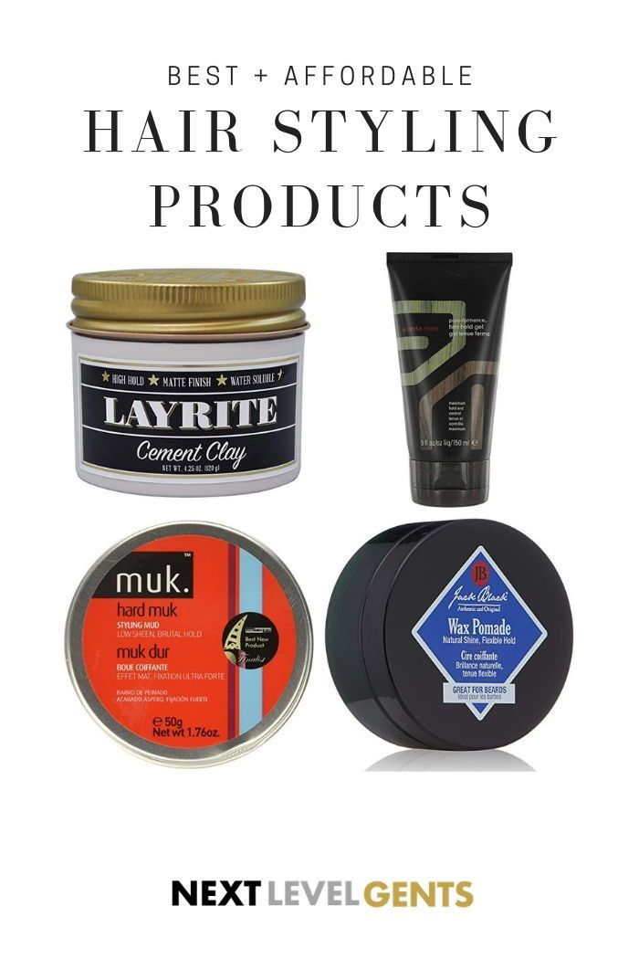 The Best Hair Styling Products For Men Here Is A List Of The Best Products For Any Hair Type In 2020 Cool Hairstyles Hair Wax For Men Long Hair Styles Men