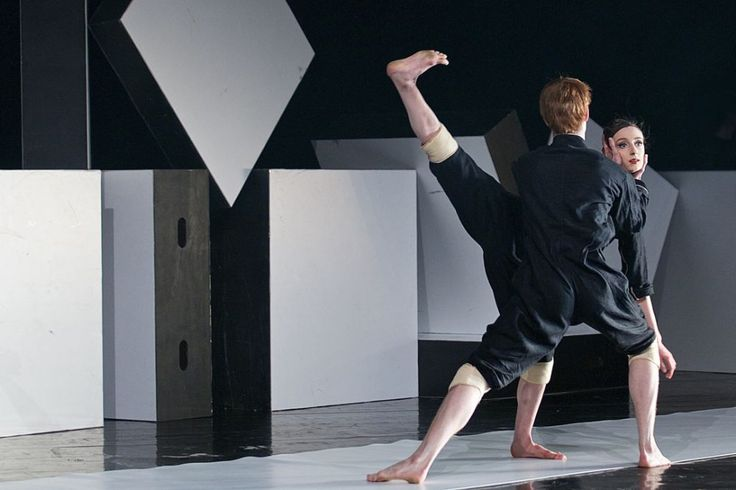 Photo gallery of Czech National Ballet's triple bill: Rain, Vertigo and Cacti - Matej Sust and Alice Petit