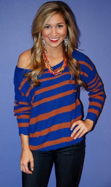 This is cute! Wear it to a gator game cuz I will totally go to one of those(: