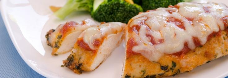 SUCCULENT CHICKEN PARMESAN - Use gf bread crumbs