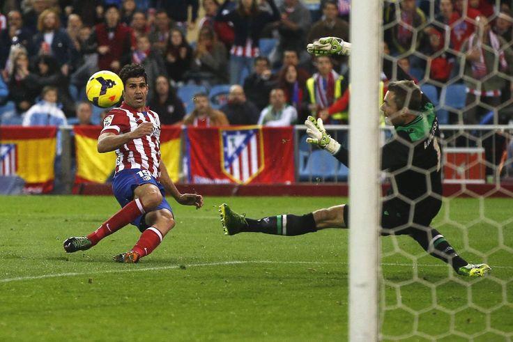 Gol de Diego Costa - Atleti