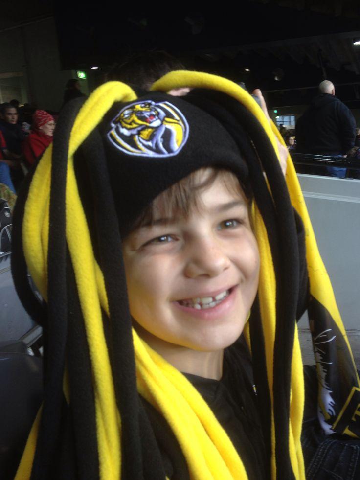 Aussie Rules Football. Go Tigers!! #AustraliaDayOnboard